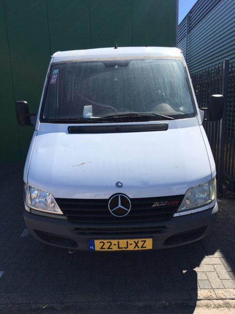 Mercedes-Benz 208 CDI – Export